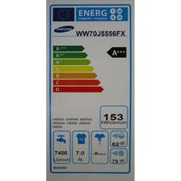 Samsung WW70J5556FX - Étiquette énergie