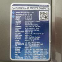 Samsung WW70K5410UX - Autocollant service consommateurs