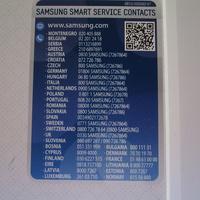 Samsung WW70K5413WW AddWash - Autocollant service consommateurs