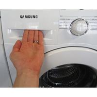Samsung WW80J3267KW - Ouverture du tiroir à détergents