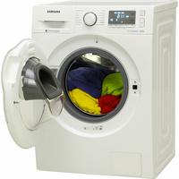 Samsung WW8EK6415SW Add wash - Vue porte ouverte