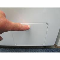 Samsung WW8EK6415SW Add wash - Ouverture de la trappe du filtre de vidange