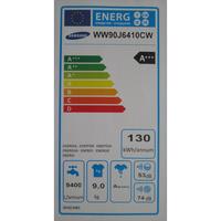 Samsung WW90J6410CW  - Étiquette énergie