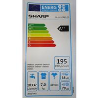 Sharp ES-FA7123W2 FR - Étiquette énergie