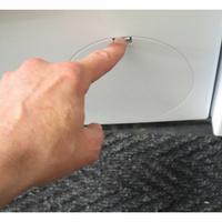 Siemens WM12N260FF iQ300 - Ouverture de la trappe du filtre de vidange
