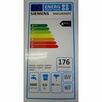 Siemens WM12N260FF iQ300 - Étiquette énergie