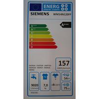 Siemens WM14N120FF - Étiquette énergie