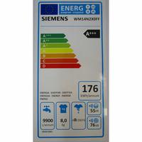 Siemens WM14N2X0FF - Étiquette énergie