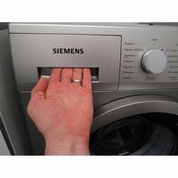 Siemens WM14N2X0FF - Ouverture du tiroir à détergents