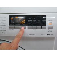Siemens WM14Q472FF iQ500 (*12*) - Afficheur et touches d'options