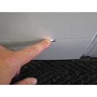 Siemens WM14S485FF iQ500 - Ouverture de la trappe du filtre de vidange