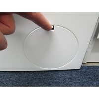 Siemens WM14T419FF - Ouverture de la trappe du filtre de vidange