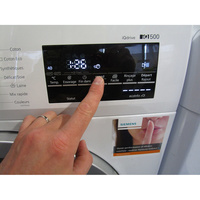 Siemens WM14T450FF iQ500 - Afficheur et touches d'options