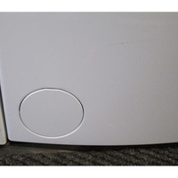 Siemens WP12T287FF - Trappe du filtre de vidange