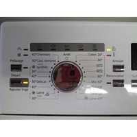 Siemens WP12T287FF - Sélecteur de programme et température