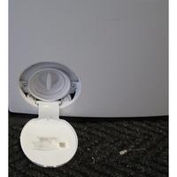 Siemens WP12T287FF - Bouchon du filtre de vidange