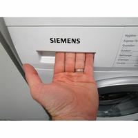 Siemens WU14Q408FF - Ouverture du tiroir à détergents