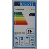 Thomson (Darty) WT1407 - Étiquette énergie