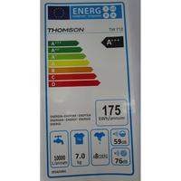 Thomson TW 712 - Étiquette énergie