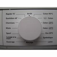 Tucson TL1006FA++ - Sélecteur de programme et température