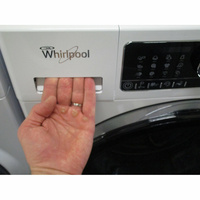 Whirlpool FSCR10432(*29*) - Ouverture du tiroir à détergents