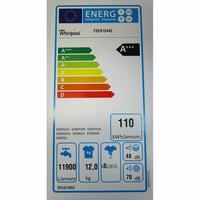 Whirlpool FSCR12443 6ème Sense Live(*37*) - Étiquette énergie