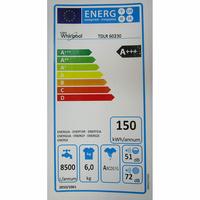 Whirlpool TDLR60230 - Étiquette énergie