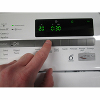 Whirlpool TDLR60230 - Afficheur et touches d'options