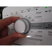 Whirlpool TDLR65210(*10*) - Visibilité du sélecteur de programme