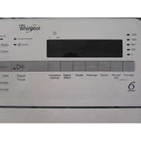 Whirlpool TDLR65210(*10*) - Touches d'option