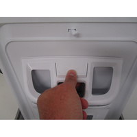 Whirlpool TDLR65210(*10*) - Bouton de retrait du bac à produits