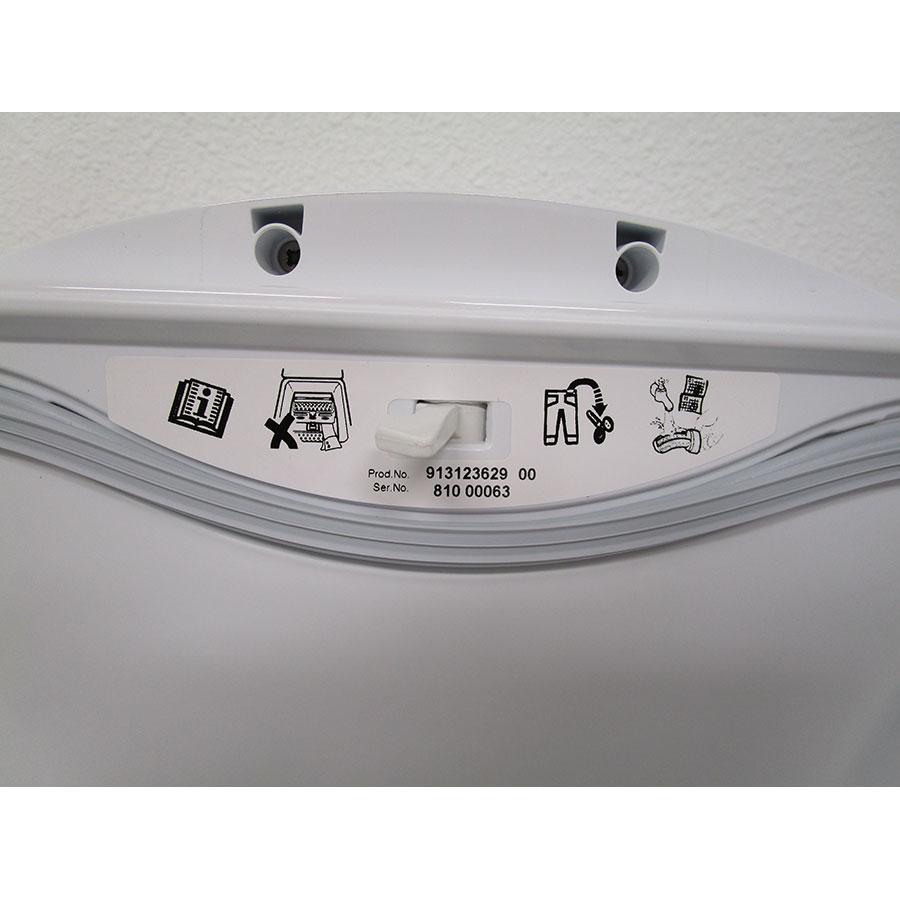 AEG L6TBD624G - Autocollant des préconisations d'utilisation