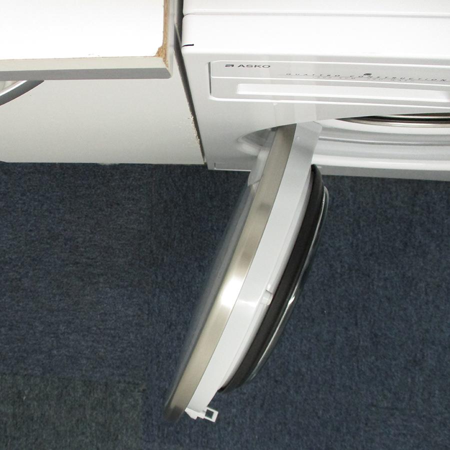 Asko W2096P.W/2 - Angle d'ouverture de la porte
