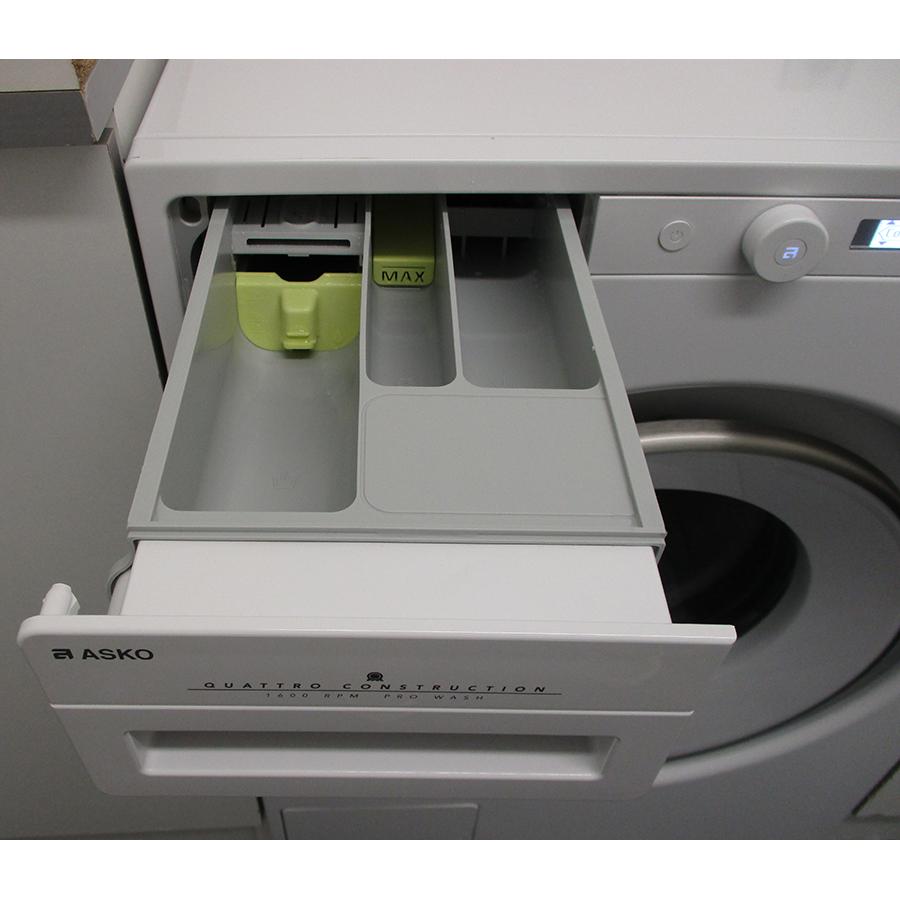Asko W2096P.W/2 - Compartiments à produits lessiviels