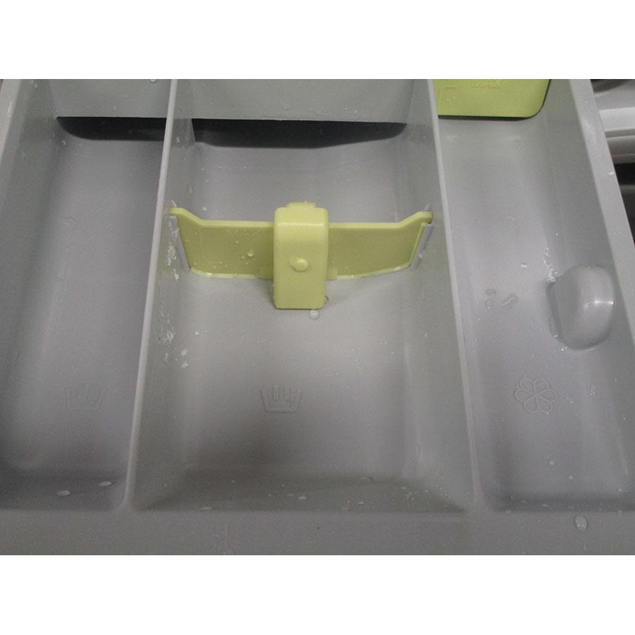 Asko W6564W - Compartiment spécifique pour assouplissant