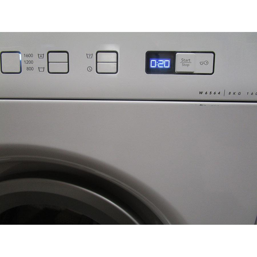 Asko W6564W - Touches d'option