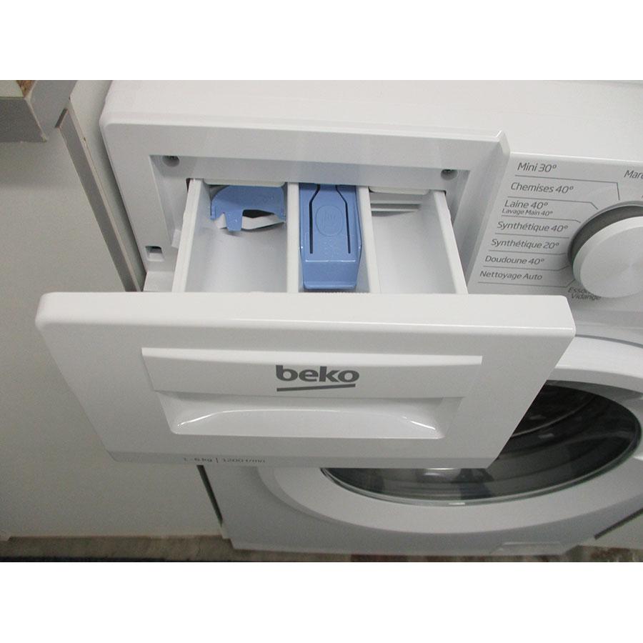 Beko DWTV6621XW1W - Compartiments à produits lessiviels