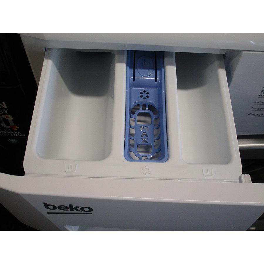 Beko WMB71436 - Sérigraphie des compartiments