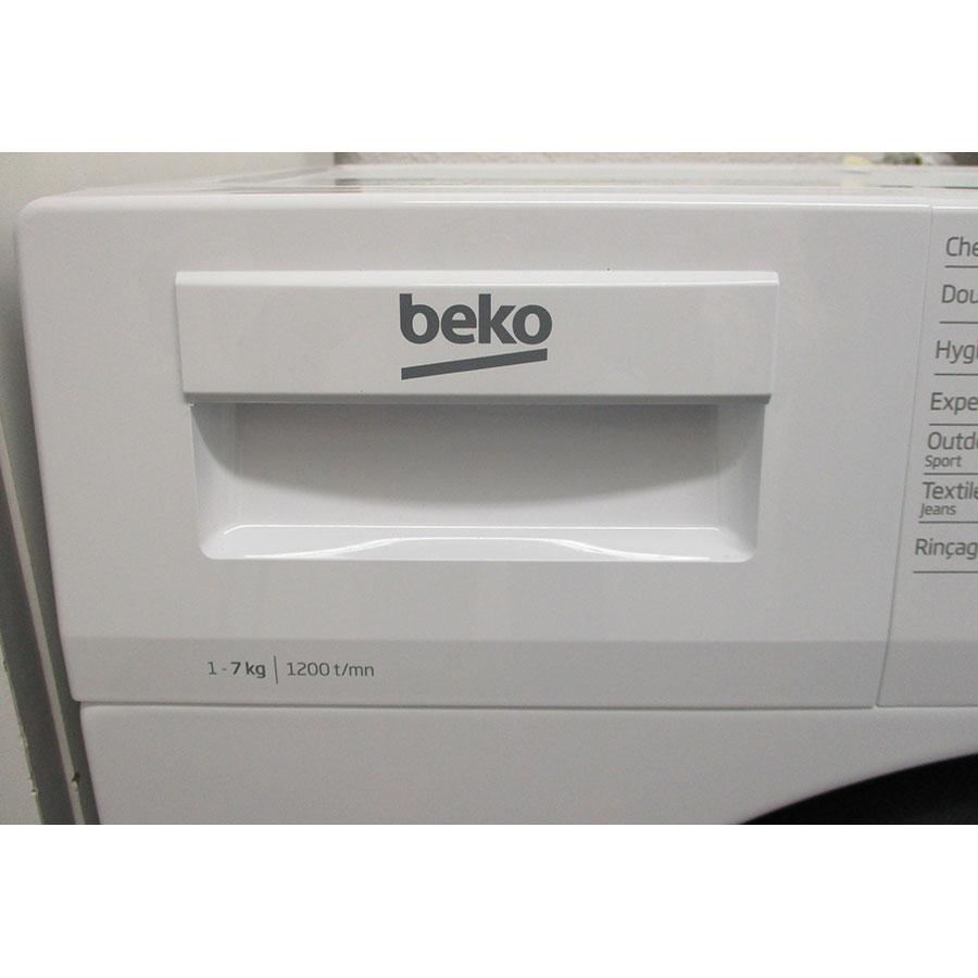 Beko WTS7201W - Tiroir à détergents