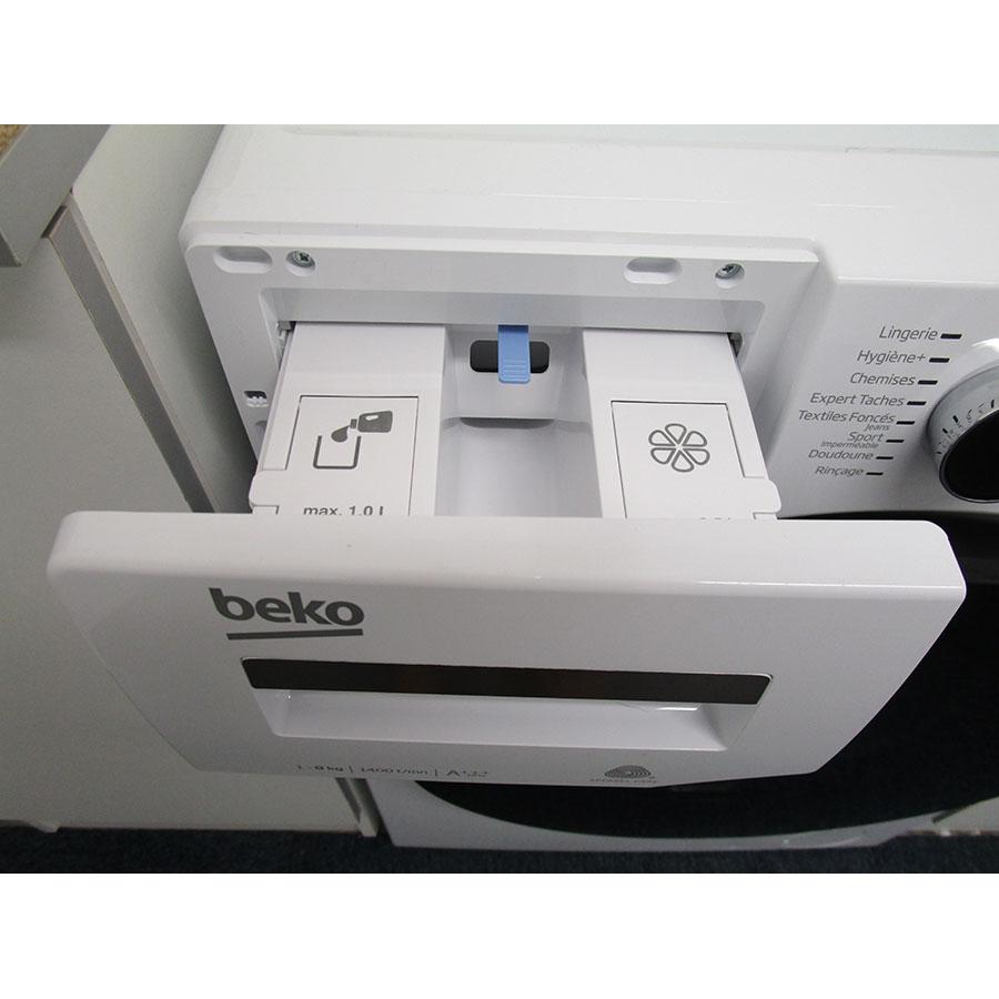 Beko WTV8744XWDOS - Compartiments à produits lessiviels