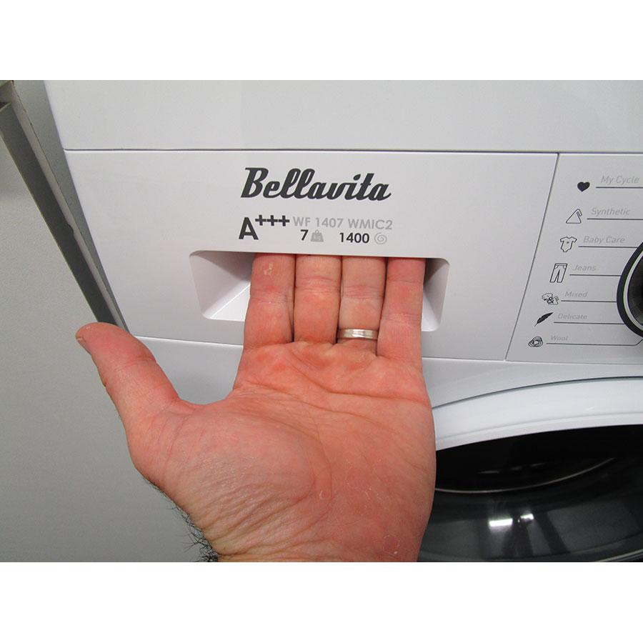 Bellavita (Electro Dépôt) WF1407A+++WMIC2 - Ouverture du tiroir à détergents