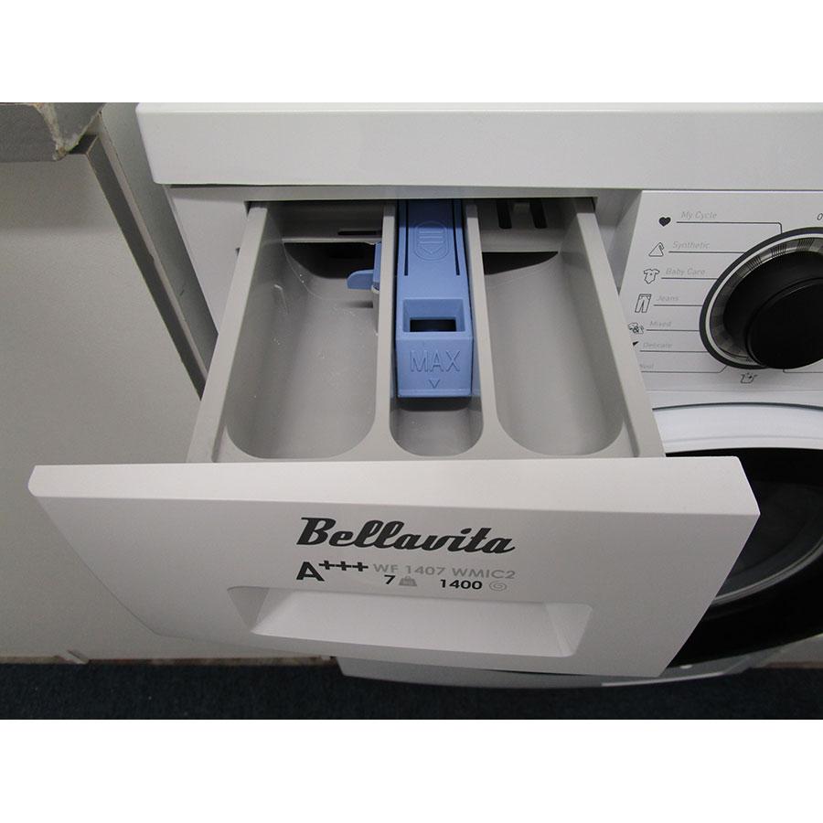 Bellavita (Electro Dépôt) WF1407A+++WMIC2 - Compartiments à produits lessiviels