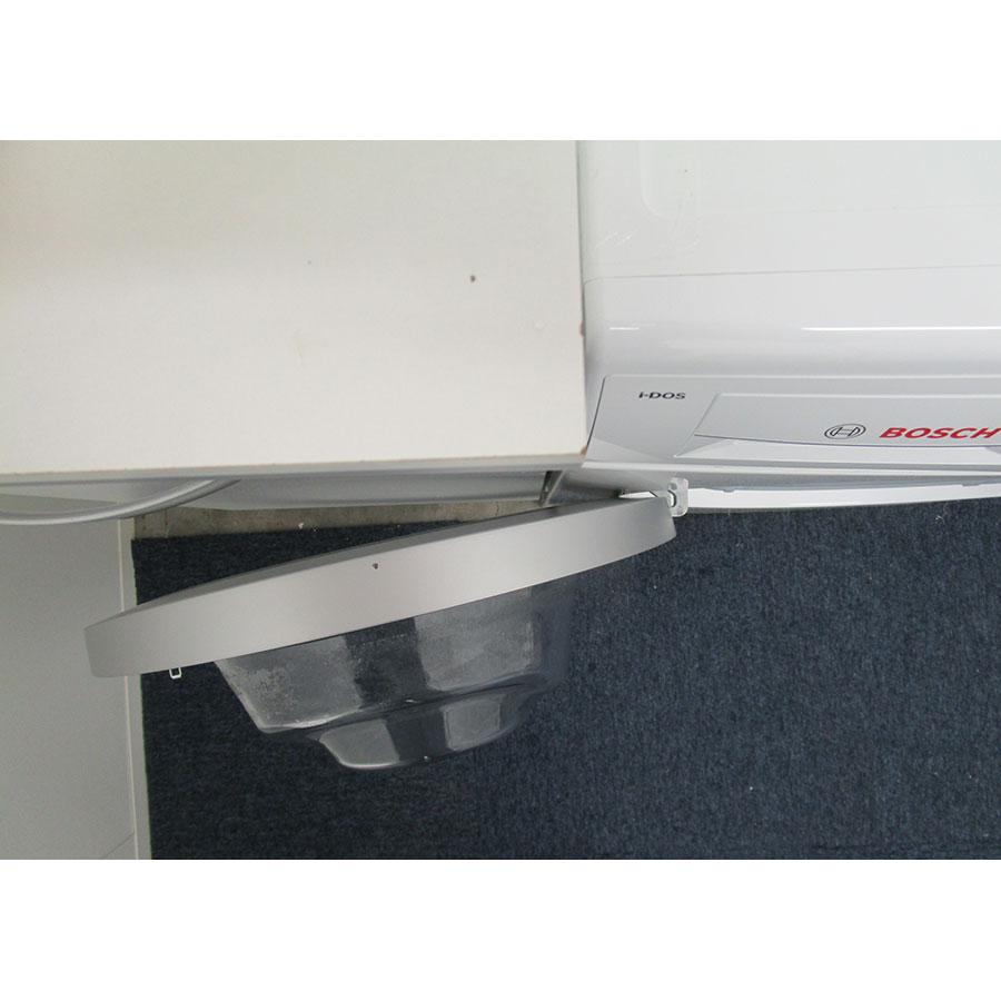 Bosch I-Dos WAT286H9FF - Angle d'ouverture de la porte