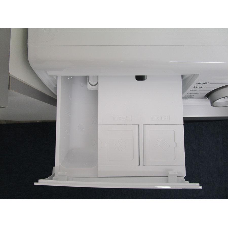 Bosch I-Dos WAT286H9FF - Sérigraphie des compartiments