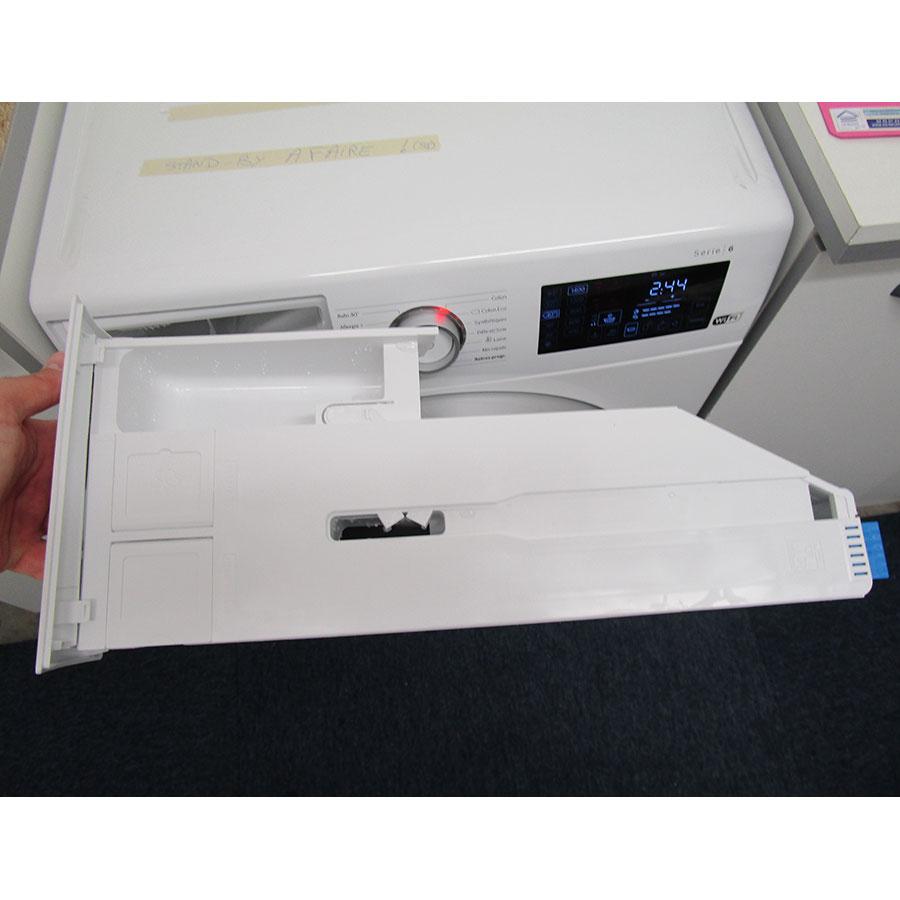Bosch I-Dos WAT286H9FF - Retrait du bac à produit