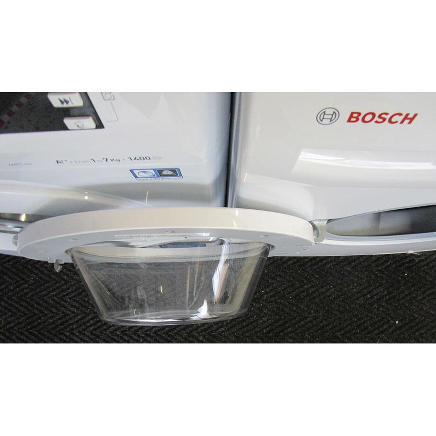 Bosch WAE28217FF Série 2 - Angle d'ouverture de la porte
