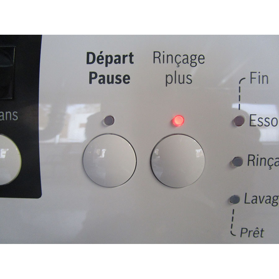 Bosch WAE28217FF Série 2 - Touches d'option