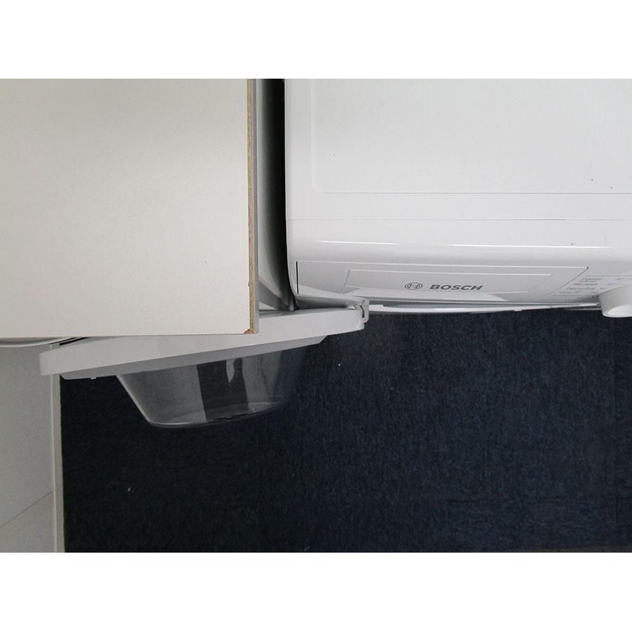 Bosch WAN28070FF - Angle d'ouverture de la porte