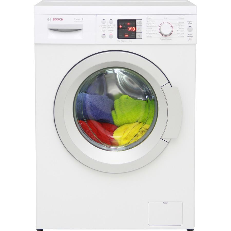 Test bosch waq28413ff lave linge ufc que choisir for Lave linge que choisir