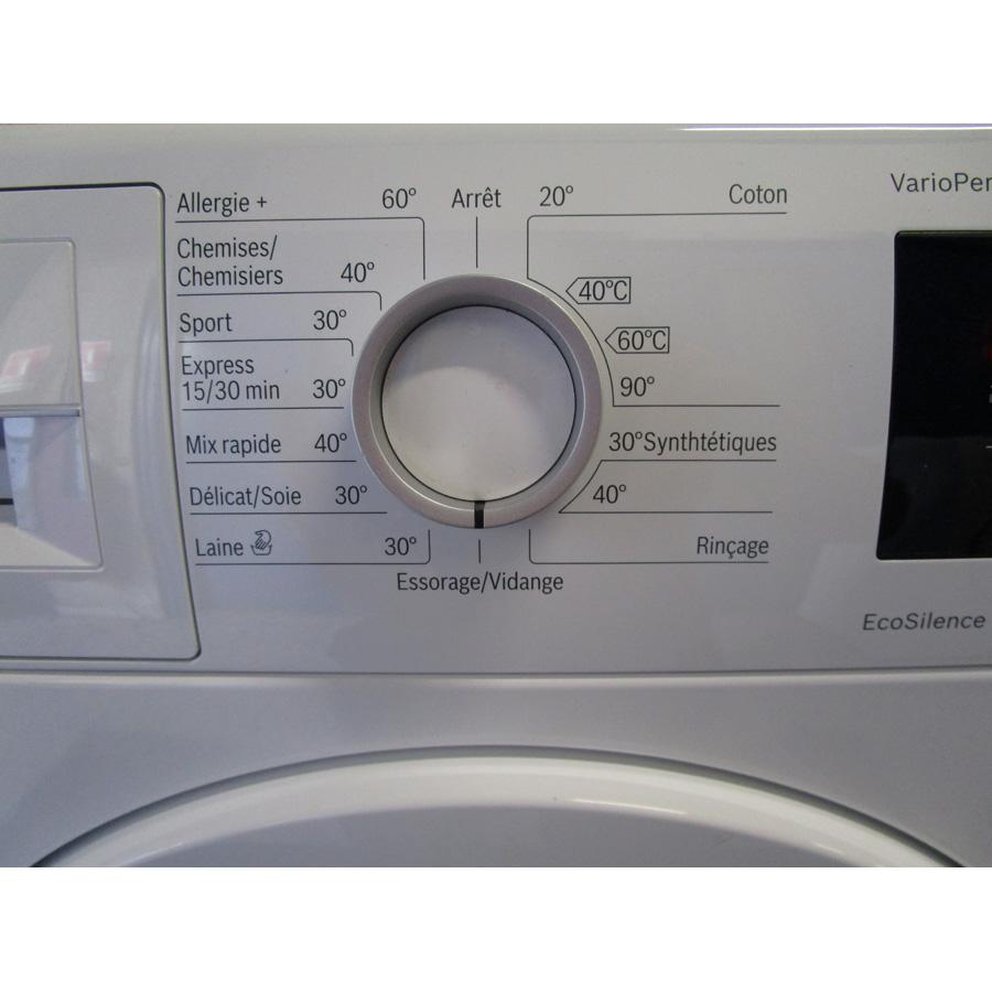 Bosch WAT24320FF - Sélecteur de programme et température